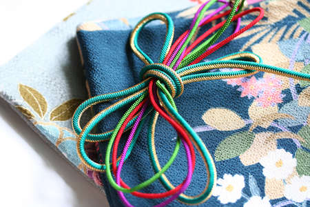 Japanese kimono accessories Stock Photo