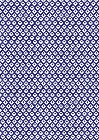 これは、パターンは、日本「鹿の子の出来るまで」