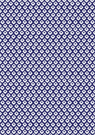 japanese pattern illustration: This is the pattern of Japan Kanoko Shibori