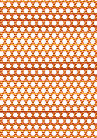 日本の伝統的なかごのパターン