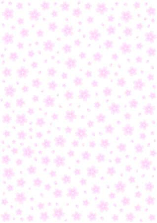 桜の花の背景パターン