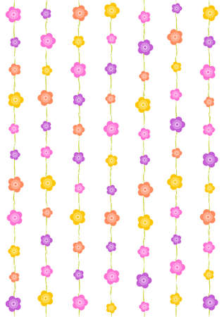 Pattern of plum blossoms Vector