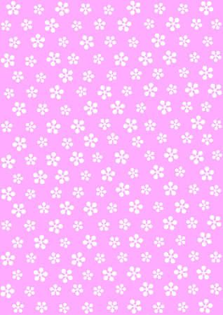 retro: Pattern of plum blossoms - spot
