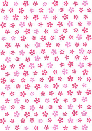 Pattern of plum blossoms - spot