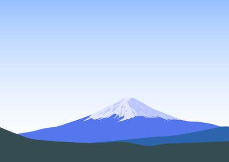 Mt.Fuji - Famous mountain in Japan
