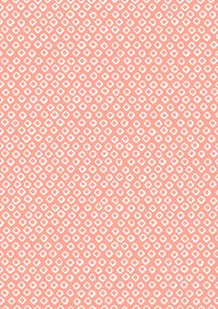 日本鹿の子の出来るまでの伝統的なパターン  イラスト・ベクター素材