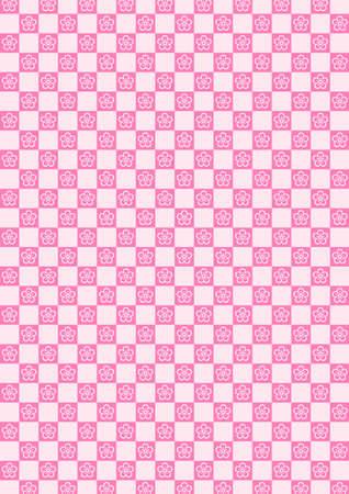 gaily: Checkered pattern - plum