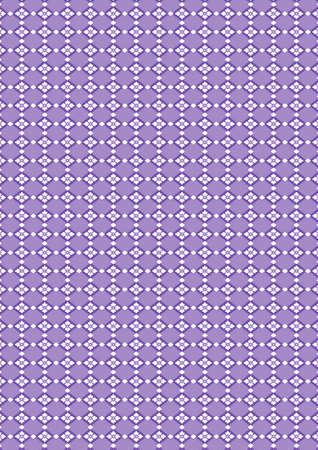 gaily: Traditional Japanese flower rhombus pattern Illustration