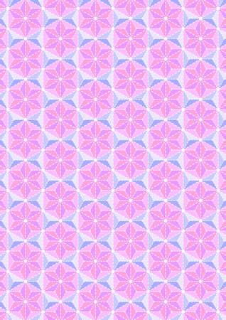 Traditional Japanese pattern Illustration