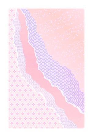 Achtergrond materiaal voor Nieuwjaarskaart briefkaartformaat Stock Illustratie
