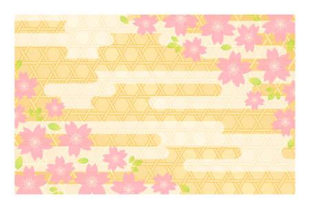 新年のカード (ポストカード サイズ) 用背景素材