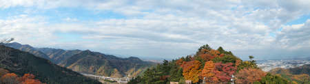 Tokyo Takao San Hongye panorama Фото со стока