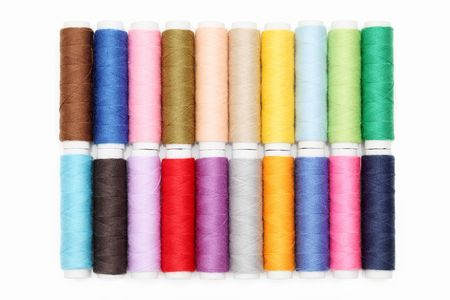 Colorful threads photo
