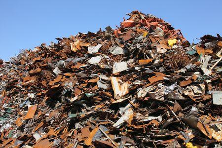 junkyard: Dep�sito de chatarra  Foto de archivo