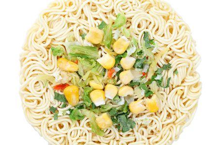 Dry noodle photo