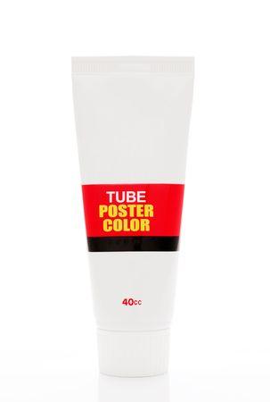 Paint tube photo