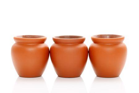 Ceramic pots photo