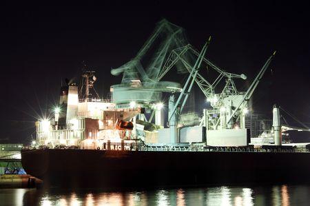 Cargo ship photo