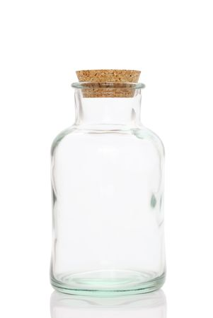 glass jar: Glass bottle