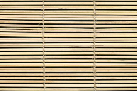 Bamboo curtain  photo
