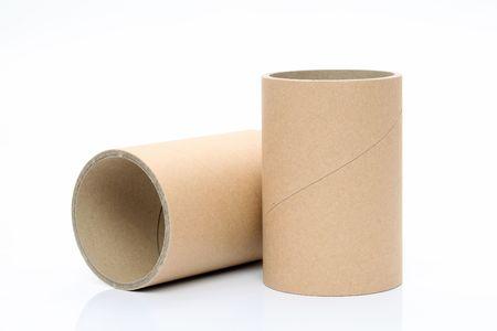 Cylinder tube Stock Photo