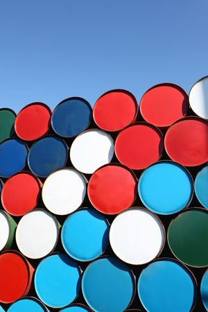 Oil drum Stock Photo - 8085793