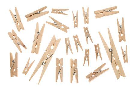 Wooden clothespen Stock Photo - 8160003