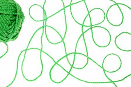 weave ball: Woolen yarn