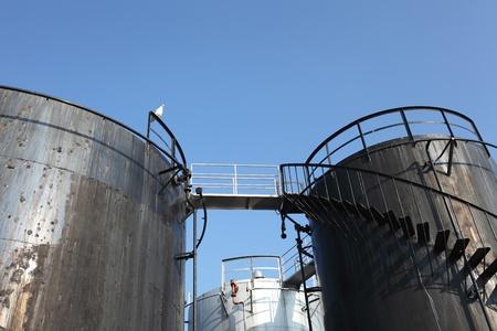 Storage tanks Stock Photo - 8245726