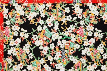 oriental season: Japanese traditional pattern