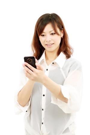 携帯電話と日本の若い女性