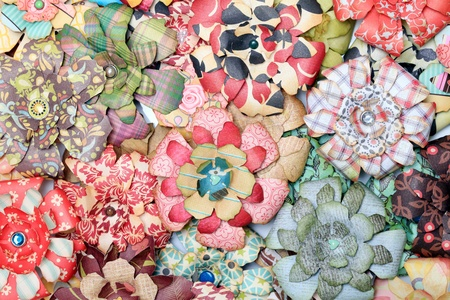 Artificial paper flowers Stock Photo - 9900770