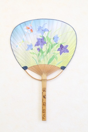 Traditional japanese paper fan Stock Photo - 10768099