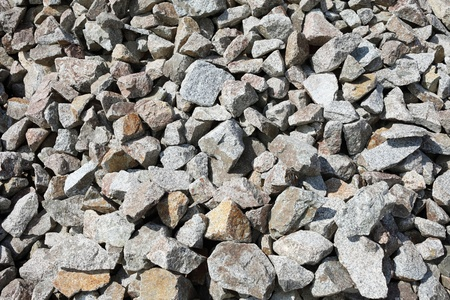 Close up of gray gravel background photo