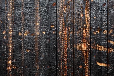 バーント木材背景テクスチャ