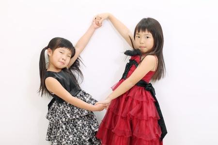 asian girls two