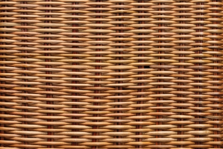 wicker: Brown rattan texture background