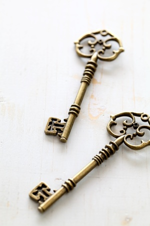 Antique keys photo