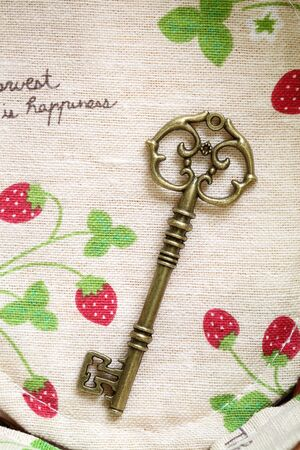 Antique key photo