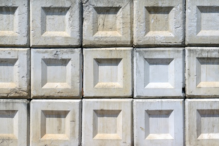 Stack of concrete blocks, texture background  Stock Photo - 15013967