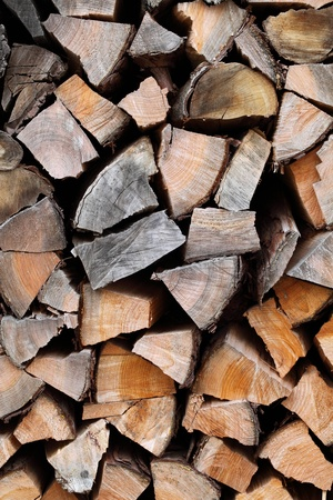 Pile of fire woods Stock Photo - 17459123