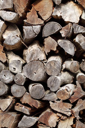 Pile of fire woods Stock Photo - 17459124