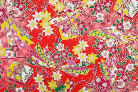 Handmade traditional japanese pattern paper, texture background
