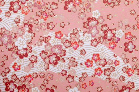 traditional japanese pattern paper, texture background photo