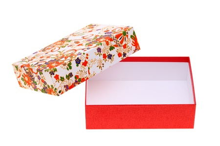 gift box of handmade japanese pattern  photo