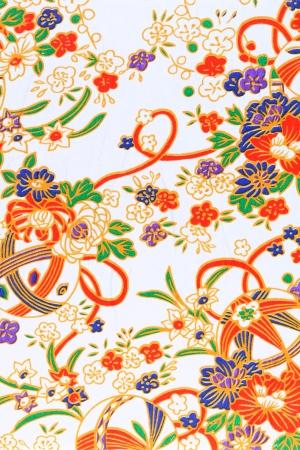 Handmade traditional japanese pattern paper