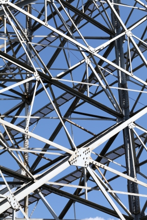 new site: Steel framework