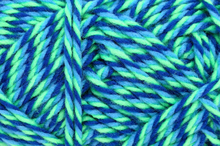 colorful wool yarn, close up texture background photo
