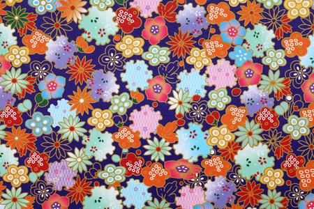 Traditionele Japanse patroon origami papier, textuur achtergrond Stockfoto