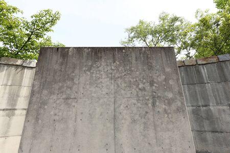 cornerstone: grunge of concrete walls texture background